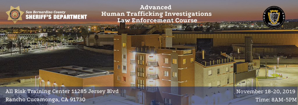 Advanced Human Trafficking Investigations Course